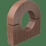 Insulating Wood Block (Fig.101b)