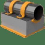 300mm QplaS Vertical Cold Line Support (Fig. 450)