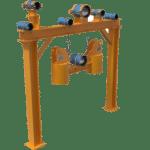 Example fabricated steelwork