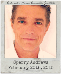 2.20.15 Sperry Andrews: Human Connection Institute