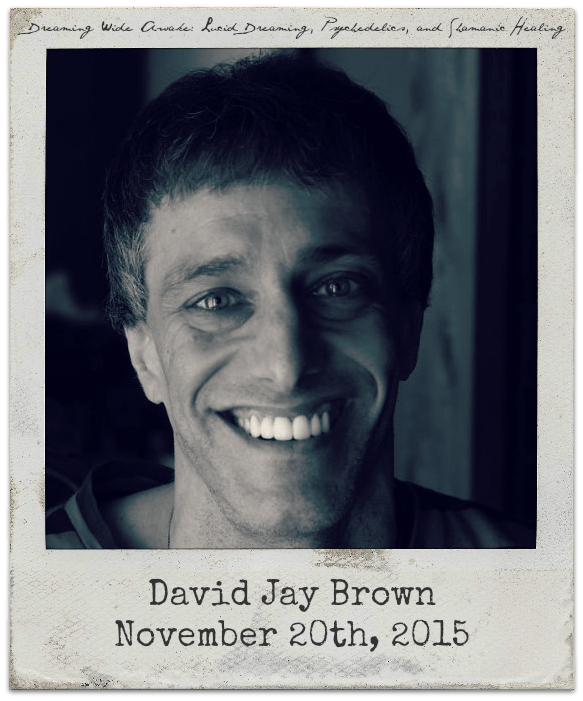 11.20.15 David Jay Brown: Psychedelic Consciousness and Lucid Dreaming