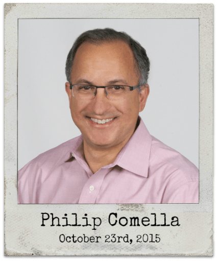 "10.23.15 Philip Comella: ""The Collapse of Materialism"""