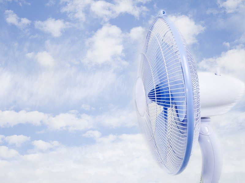 Entrega de ventiladores en NC