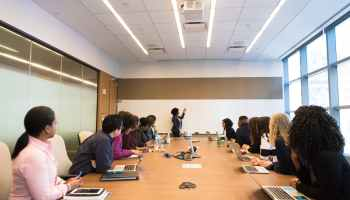 group of people on conference room