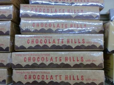 Chocolate hills!