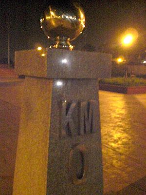 Km 0 Marker