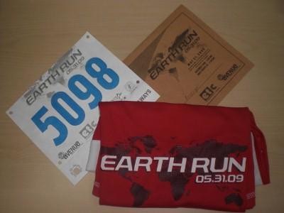Earth Run Race Kit
