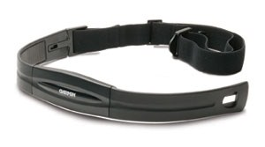 Heart rate monitor (HRM), courtesy Garmin
