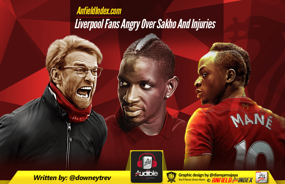 Liverpool Fans Angry Over Sakho And Injuries