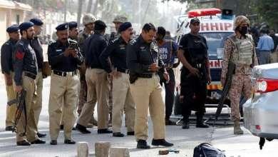 صورة تفجير في باكستان خلال احتفال بعيد المولد النبوي
