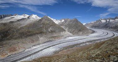 صورة الأنهار الجليدية تقلصت في سويسرا بنسبة 10% خلال خمس سنوات.. اعرف الأسباب