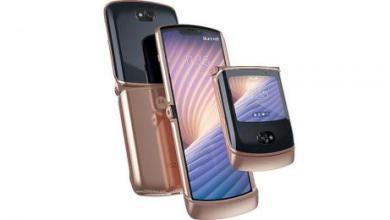 صورة «ريزر 5 جي»… نسخة أحدث من هاتف «موتورولا» القابل للطيّ