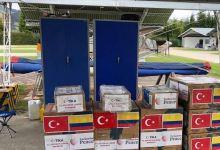 """صورة مساعدات """"تيكا"""" التركية تدعم كولومبيا في التصدي لفيروس كورونا"""