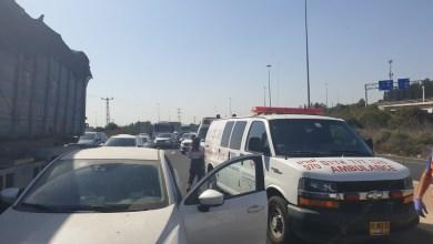 صورة علم موقع قرع الإخباري قبل قليل ان حادث طرق سلسلة  وقع على شارع 65