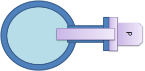 The ideal Pressure sensor position for pulsation sensinf is that the sensor membrane is parallel with the flow and that the sensor extends through the near wall thermal and turbulent boundary layers. A wall flush position implies too high pressure measuement as the near wall boundary turbulence then is measured as well.