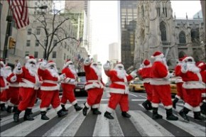 qriosando natale a new york