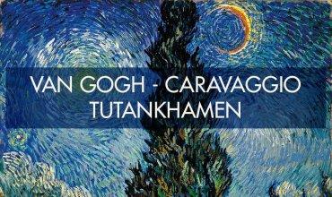 Van Gogh-Caravaggio-Tutankamon