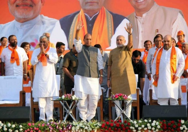 Is BJP the new Congress Party of India?