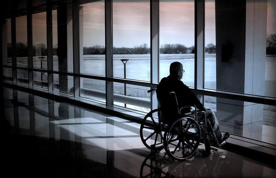 A major issue for aged prisoners is wheelchair accessibility to outdoors