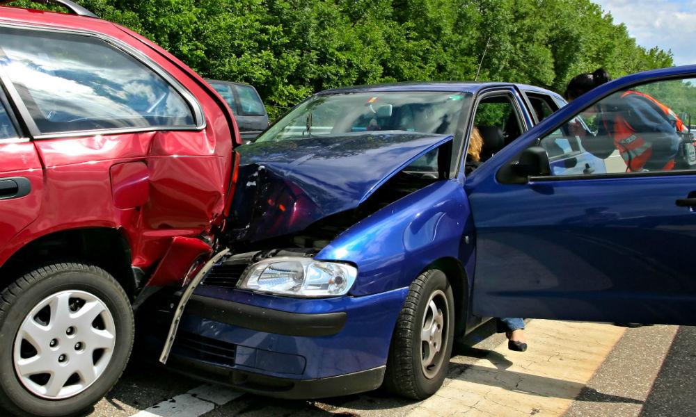 Tres errores que se cometen durante un accidente