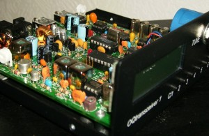 The OpenQRP transceiver (Photo: kanga-products.co.uk)
