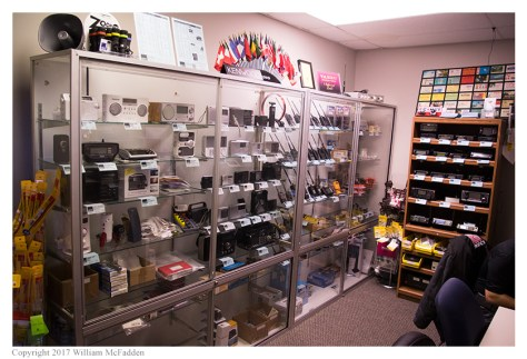 Antennas, shortwave receivers, HTs, scanners + VHF/UHF mobiles