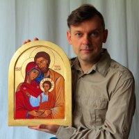 Ikona Świętej Rodziny by Piotr Wawryło