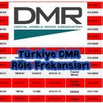 Türkiye DMR Röle Frekansları