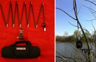 6-80 Meter Antenna EzMilitary in a 16″ bag with Match & Mount