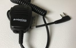 Introducing the NEW BCS-200 Speaker Mic by BridgeCom Systems: