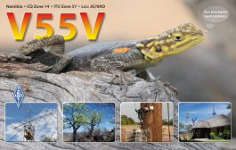 V55V, Big Signal out of Namibia, to Go Silent
