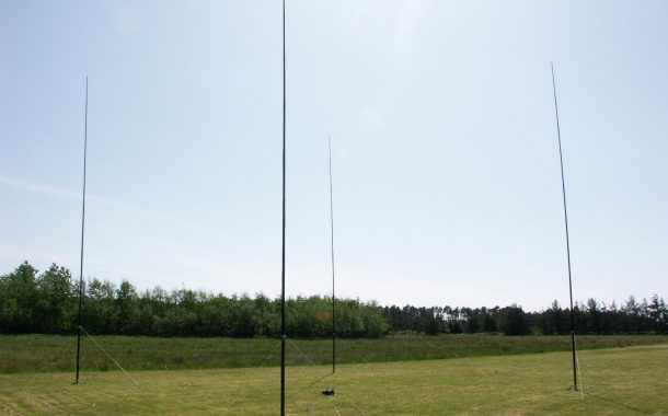 4-Square installation in Eastport, Maine [ W2RE ]