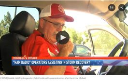 Mobile HAM Radio operators help Florida with communications after Hurricane Michael