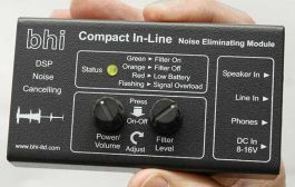 Compact In-Line stereo DSP noise cancelling module -BHI