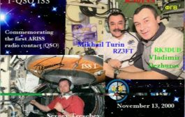 ISS Slow Scan TV event 145.800 MHz FM