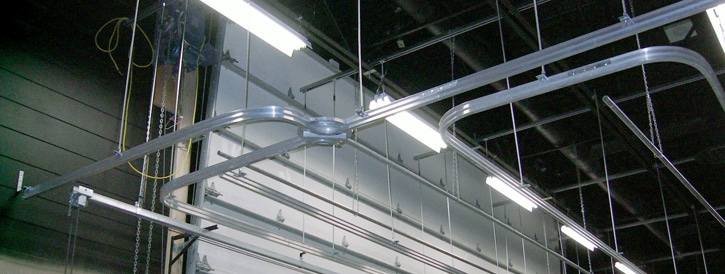 stage curtain track systems hardware