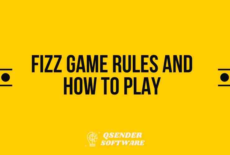 Fizz Game Rules