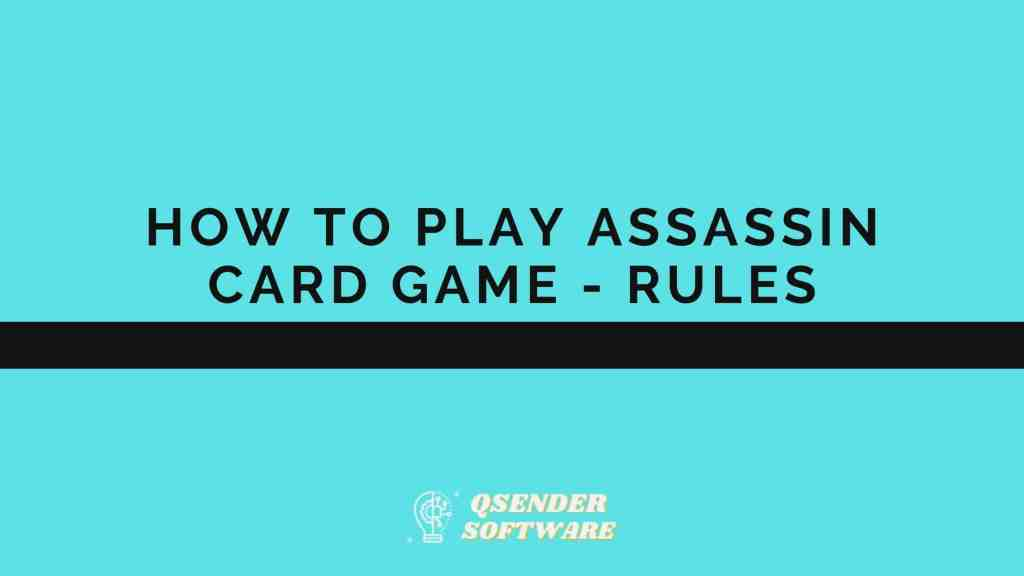 Assassin Card Game
