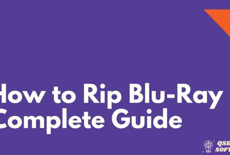 Rip Blu-Ray