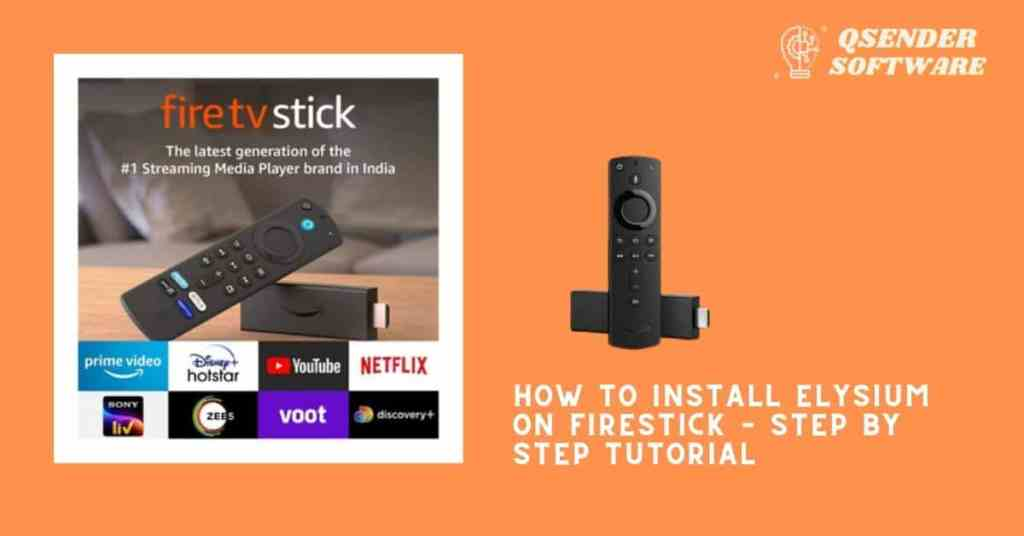 How To Install Elysium On Firestick – Step by Step Tutorial