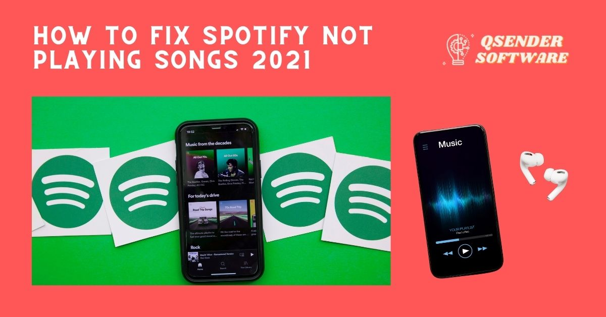 How to Fix Spotify Not Playing Songs 2021 😃