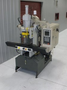 AUTOJECTOR VERTICAL PRESS 40 TON SHUTTLE, YR 1996---CALL FOR QUOTE---269