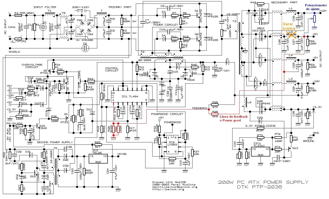 Modificacion De Fuentes De Pc Para Uso De Radioaficionados