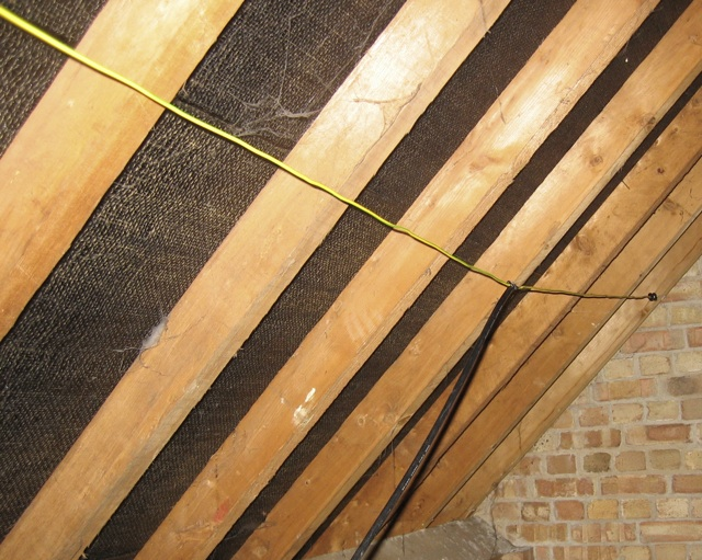 Home made 50MHz dipole in my loft