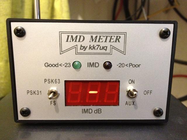 IMD meter by KK7UQ