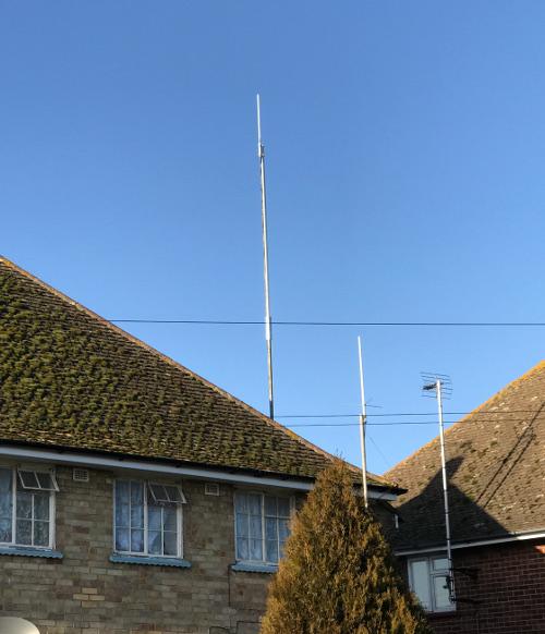 Moonraker Radar-110 base antenna
