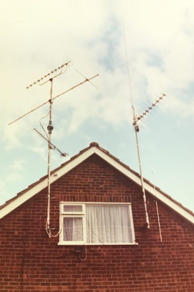 My aerials in 1991