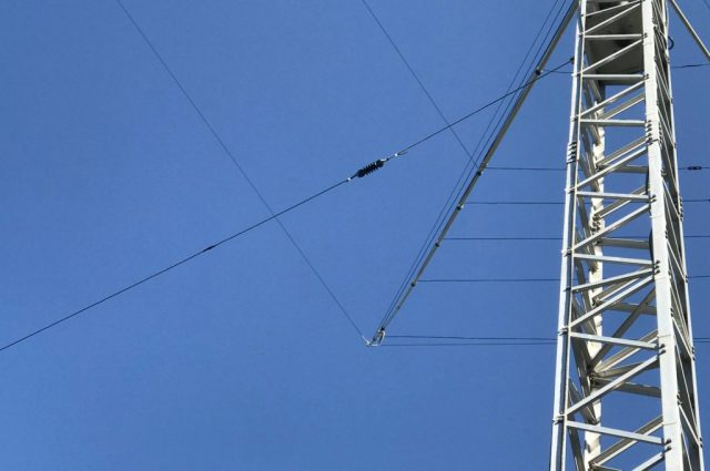 The end of the OCFD on my main mast
