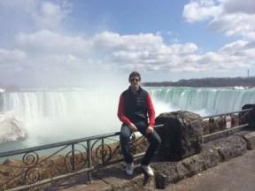 Luis at Niagara Falls