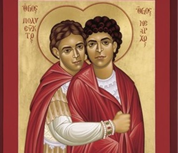 Saints Polyeuct and Nearchus: Brothers by affection
